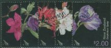 NZ SG2706-10 Garden Flowers set of 5
